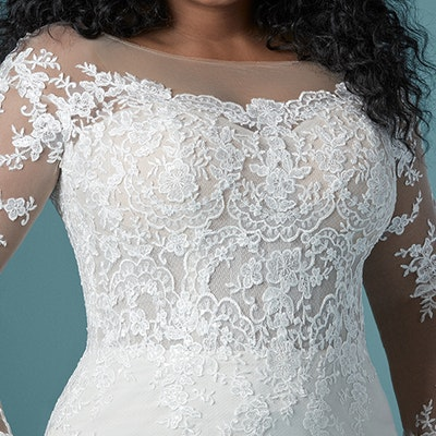 Maggie Sottero Chevelle Lynette 20MS243AC FrontBodice