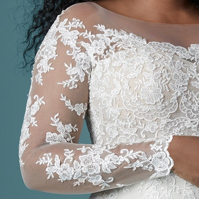 Maggie Sottero Chevelle Lynette 20MS243AC Sleeve