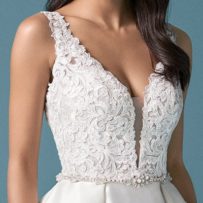 Maggie Sottero Sonnet 20MS602 FrontBodice