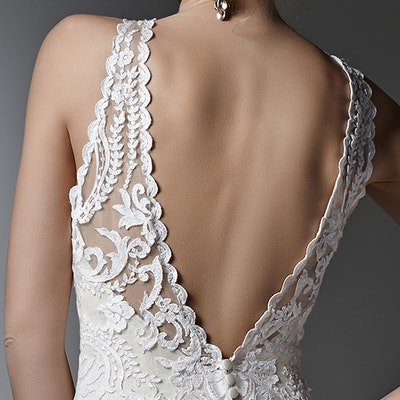 Sottero and Midgley Winifred 6ST263 BackBodice