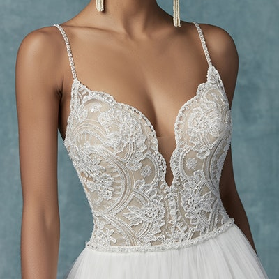 Maggie Sottero Mallory 9MS113 FrontBodice