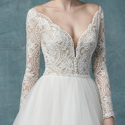 Maggie Sottero Mallory Dawn 9MS114 Sleeve