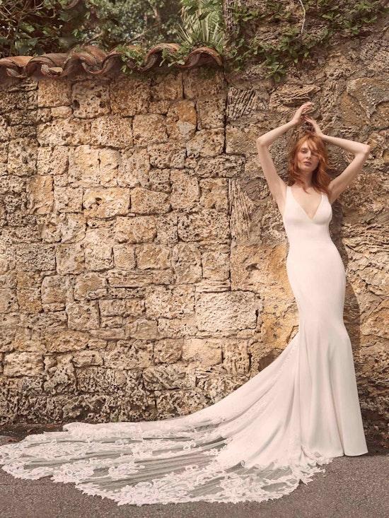 Maggie Sottero Alyssa Modern Crepe Wedding Gown 21MW352 Alt1