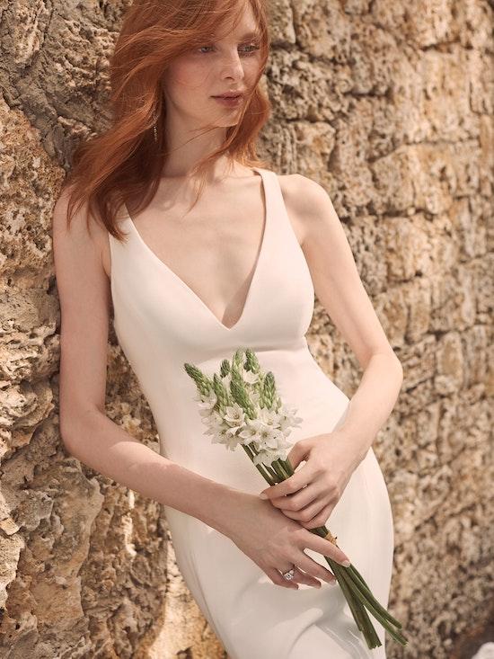 Maggie Sottero Alyssa Modern Crepe Wedding Gown 21MW352 Alt2