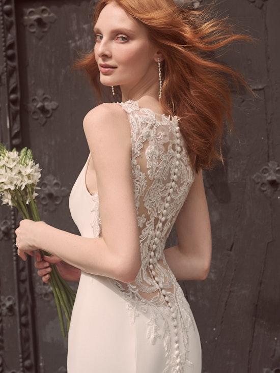 Maggie Sottero Alyssa Modern Crepe Wedding Gown 21MW352 Alt5