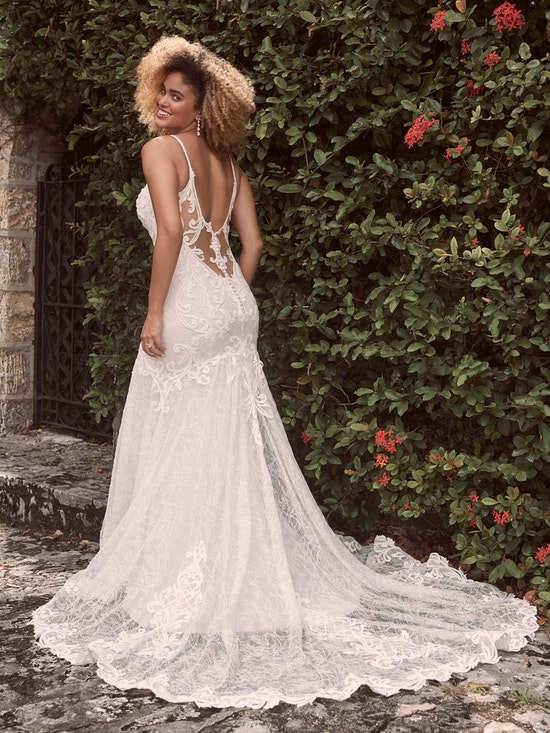 Maggie Sottero Esther Sexy Low-Back Mermaid Wedding Dress 21MC415 Alt3