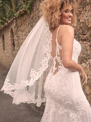 Maggie Sottero Esther Sexy Low-Back Mermaid Wedding Dress 21MC415 Main