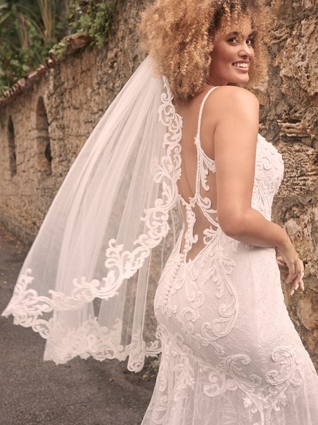 Maggie Sottero Esther Sexy Low-Back Mermaid Wedding Dress 21MC415 Main