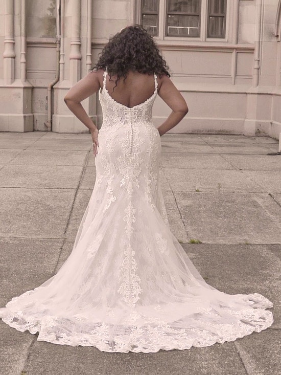 Maggie Sottero Farrah Beaded Lace Sheath Bridal Dress 21MT390 Curve-Alt12