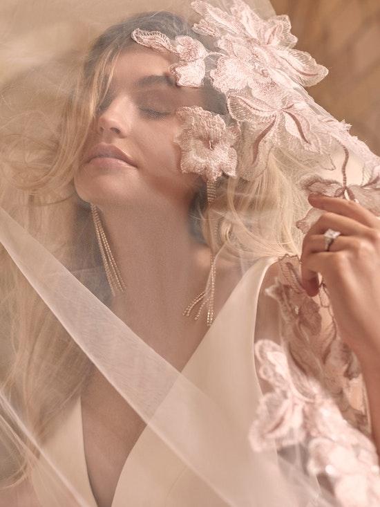 Maggie Sottero Josephine Minimalist Crepe A-line Wedding Dress 21MW374 Main