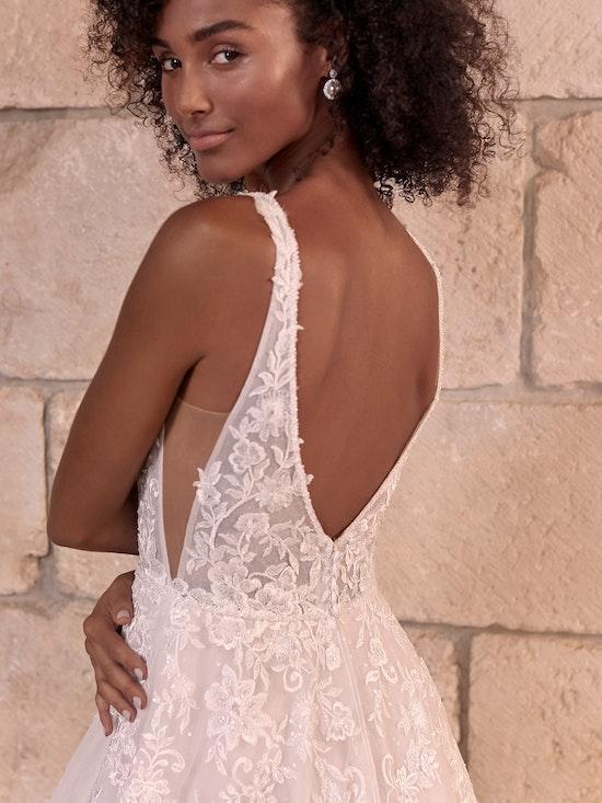 Maggie Sottero Leticia Romantic A-line Bridal Gown 21MK394 Alt2