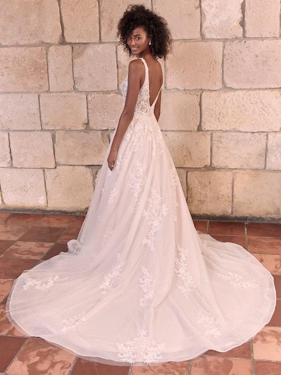 Maggie Sottero Leticia Romantic A-line Bridal Gown 21MK394 Alt4
