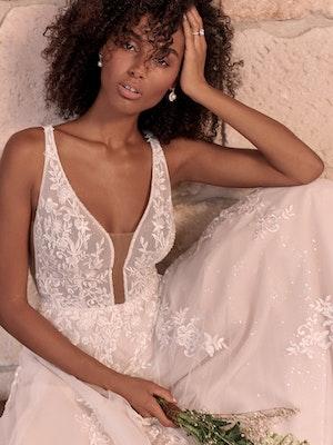 Maggie Sottero Leticia Romantic A-line Bridal Gown 21MK394 Main