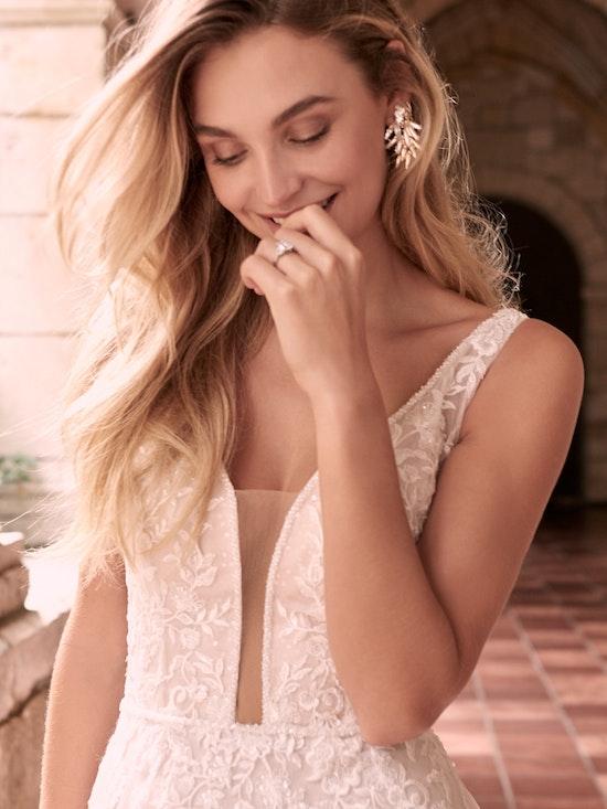 Maggie Sottero Leticia-Lynette Romantic A-line Bridal Gown 21MK394B Alt1