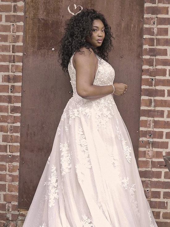 Maggie Sottero Leticia-Lynette Romantic A-line Bridal Gown 21MK394B Curve-Alt11