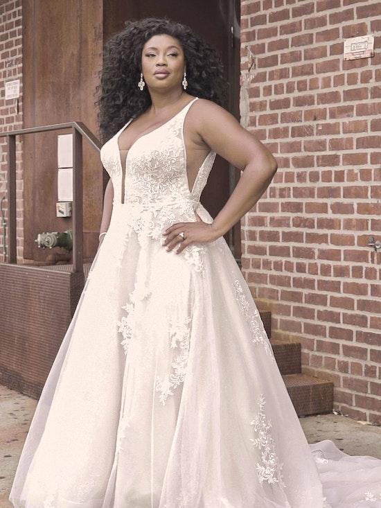 Maggie Sottero Leticia-Lynette Romantic A-line Bridal Gown 21MK394B Curve-Alt8