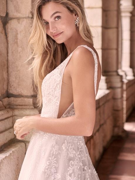 Maggie Sottero Leticia-Lynette Romantic A-line Bridal Gown 21MK394B Main