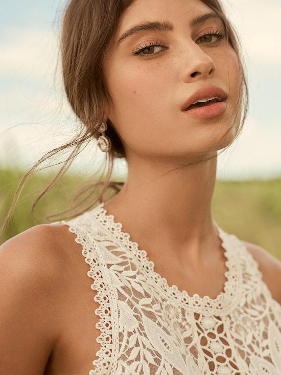 Rebecca Ingram Belinda Unique Keyhole Back Bridal Gown 21RK343 Alt4