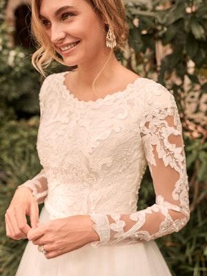 Rebecca Ingram Carrie-Leigh Modest Long Sleeve Princess Wedding Gown 21RS346 Main