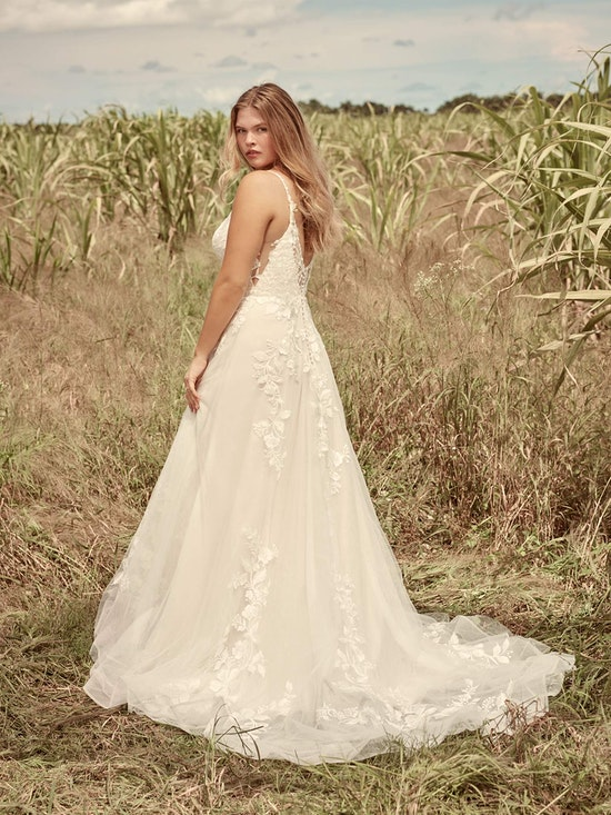 Rebecca Ingram Ellen Nature-Inspired Ball Gown Wedding Dress 21RC393 Alt5