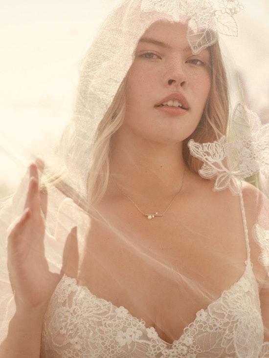 Rebecca Ingram Irene Floral Sweetheart A-line Wedding Dress 21RN398 Alt2