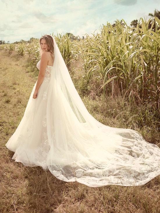 Rebecca Ingram Irene Floral Sweetheart A-line Wedding Dress 21RN398 Alt3