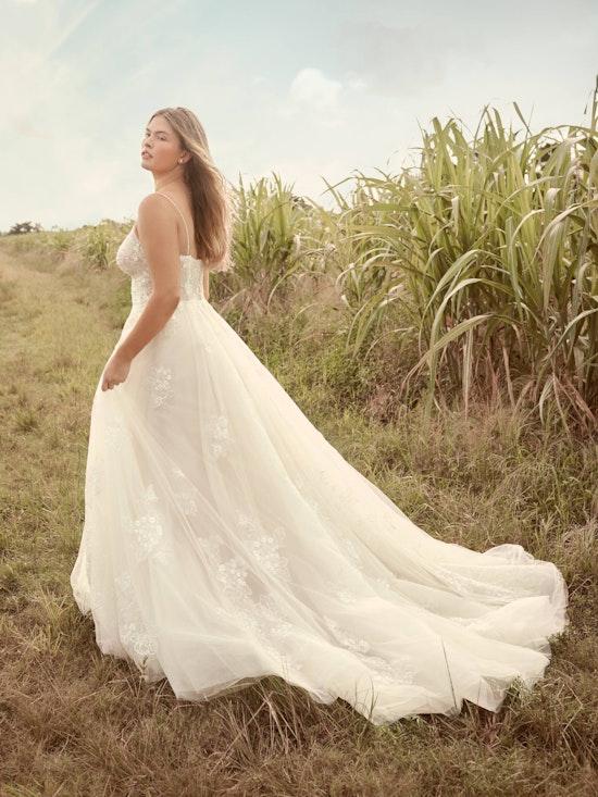 Rebecca Ingram Irene Floral Sweetheart A-line Wedding Dress 21RN398 Alt6