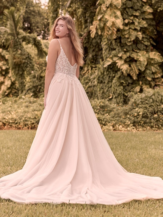 Rebecca Ingram Judy Affordable Lace A-line Bridal Dress 21RK361 Alt2