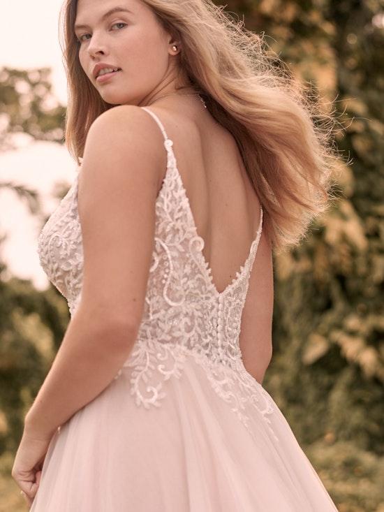 Rebecca Ingram Judy Affordable Lace A-line Bridal Dress 21RK361 Alt3