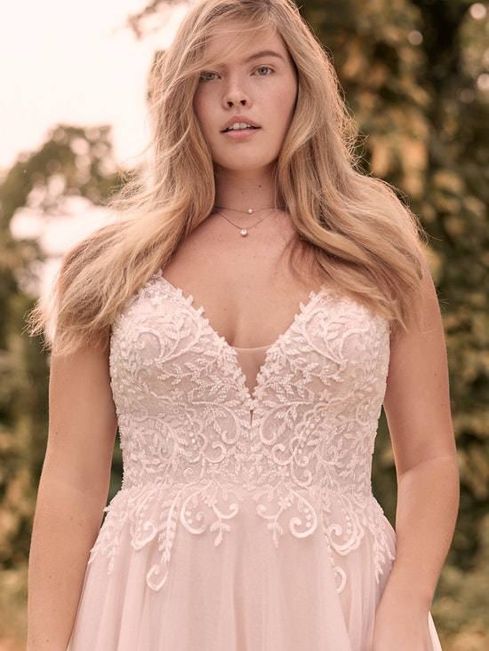 Rebecca Ingram Judy Affordable Lace A-line Bridal Dress 21RK361 Main