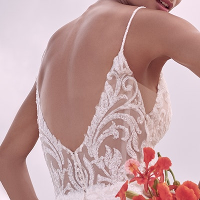 Sottero and Midgley Presley 21SC406 BackBodice