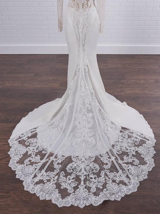 Sottero and Midgley Cambridge Dawn Elegant Sleeved Wedding Dress 21SW340 Color1