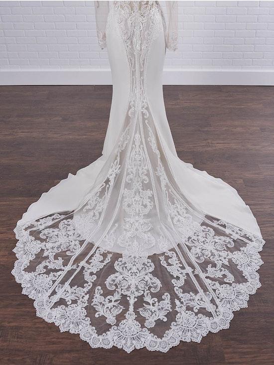 Sottero and Midgley Cambridge Dawn Elegant Sleeved Wedding Dress 21SW340 Color2