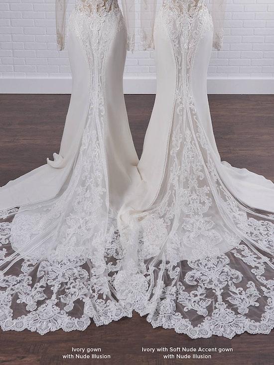 Sottero and Midgley Cambridge Dawn Elegant Sleeved Wedding Dress 21SW340 Color3