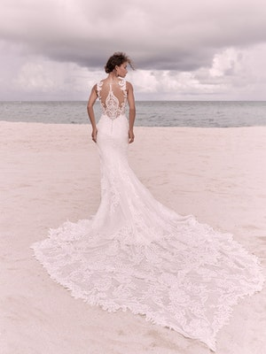 Sottero and Midgley Hamilton Elegant Lace Sheath Bridal Dress 21SS355 Alt2
