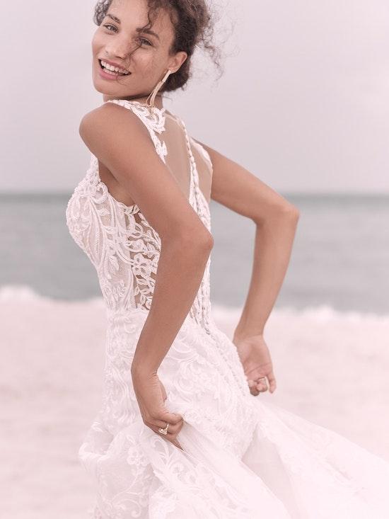 Sottero and Midgley Hamilton Elegant Lace Sheath Bridal Dress 21SS355 Alt3