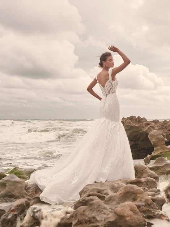 Sottero and Midgley Joss Romantic Cap-Sleeve Mermaid Wedding Dress 21SC376 Alt3