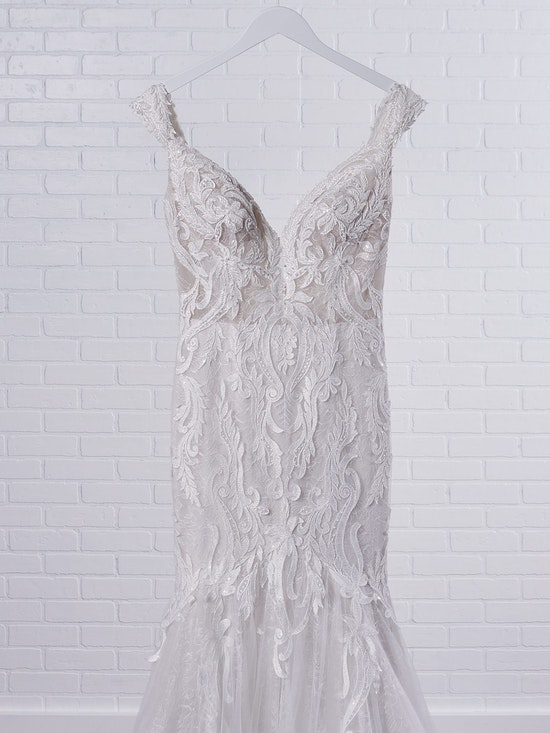 Sottero and Midgley Joss Romantic Cap-Sleeve Mermaid Wedding Dress 21SC376 Color3