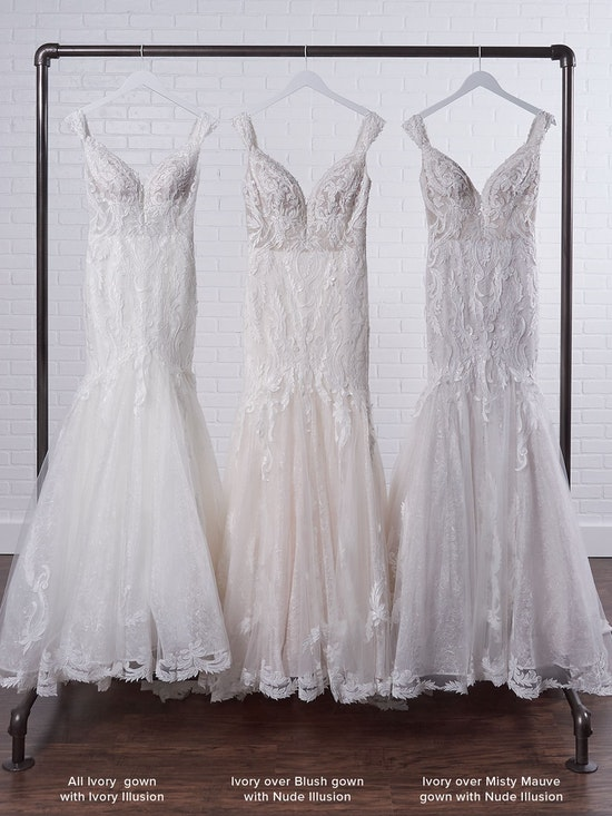 Sottero and Midgley Joss Romantic Cap-Sleeve Mermaid Wedding Dress 21SC376 Color4