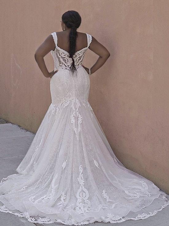 Sottero and Midgley Joss Romantic Cap-Sleeve Mermaid Wedding Dress 21SC376 Curve-Alt8