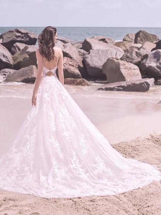 Sottero and Midgley Marlow Romantic Keyhole Back Wedding Dress  21SC429 Alt5