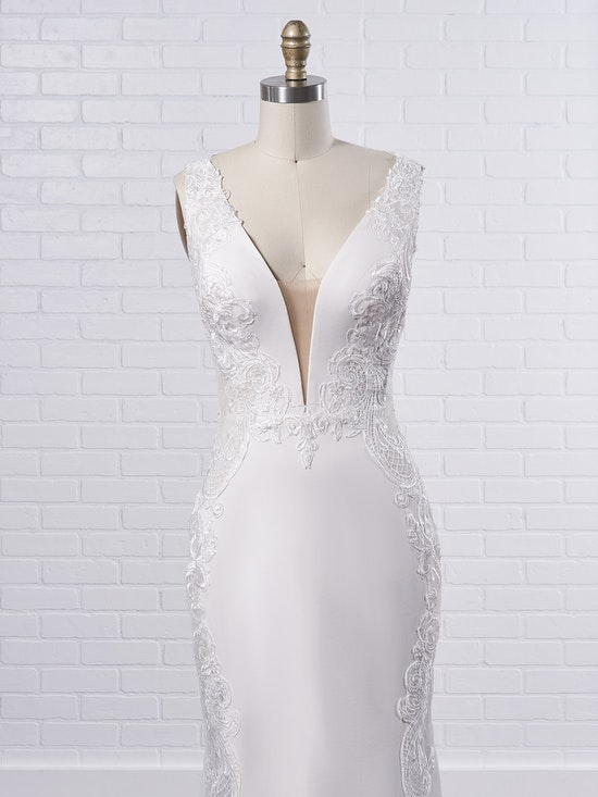 Sottero and Midgley Bradford Rose A sexy sheath wedding dress to fuel your creative and adventurous spirit 8SS777MC Color1