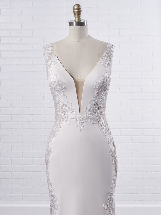 Sottero and Midgley Bradford Rose A sexy sheath wedding dress to fuel your creative and adventurous spirit 8SS777MC Color2