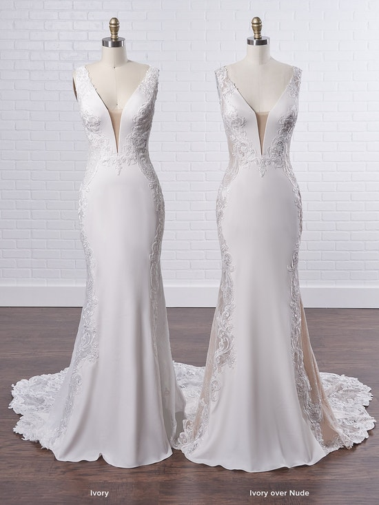 Sottero and Midgley Bradford Rose A sexy sheath wedding dress to fuel your creative and adventurous spirit 8SS777MC Color3