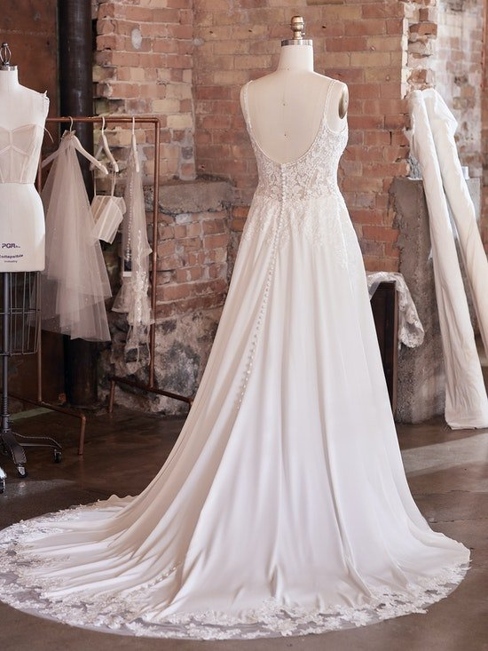 Maggie Sottero Wedding Dress Agnes 21MS821A01 Alt103