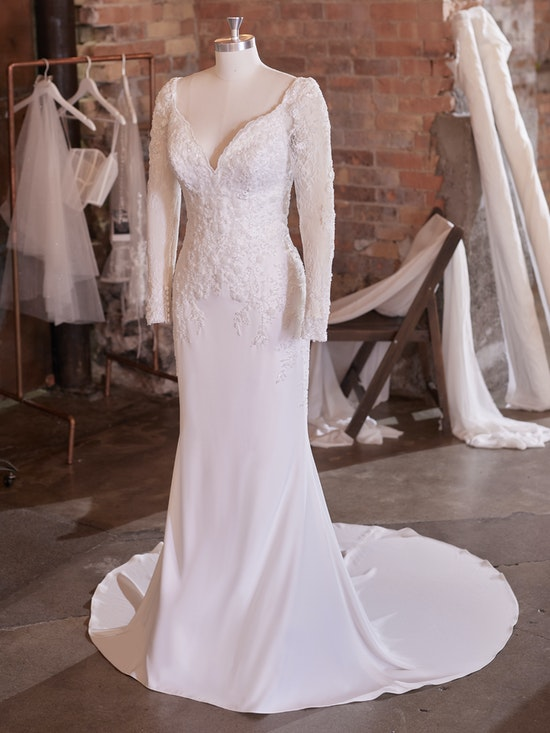Rebecca Ingram Wedding Dress Carmen 21RK724B01 Alt102