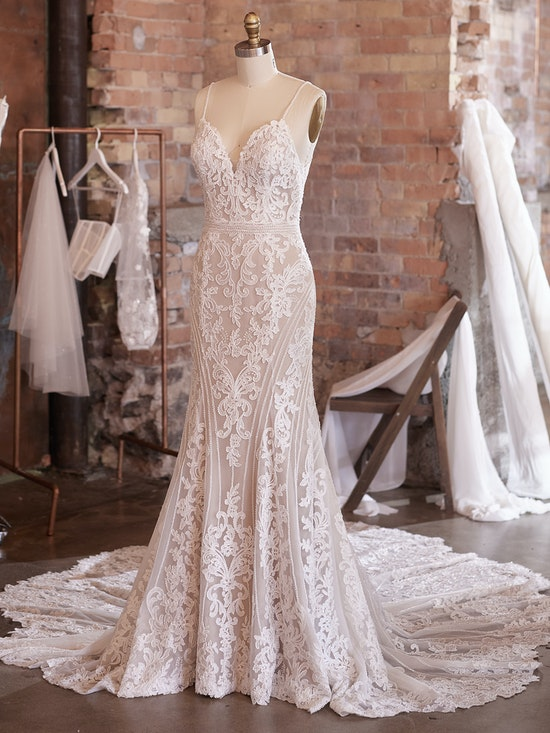 Sottero and Midgley Wedding Dress Cambrie 21SK789A01 Alt100