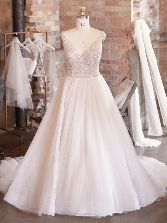 Sottero and Midgley Wedding Dress Priyanka 21SZ823A01 Alt100