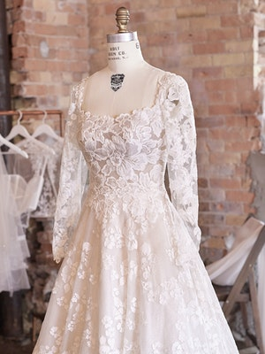 Sottero and Midgley Wedding Dress Sawyer 21SS758A01 Alt100