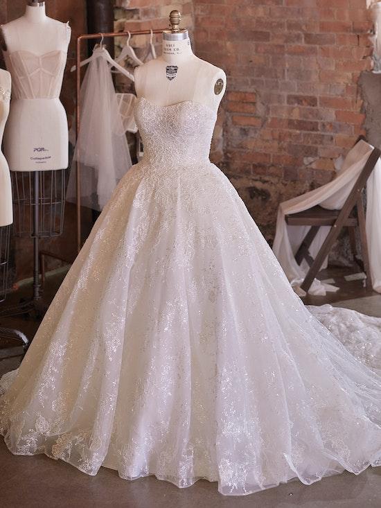 Sottero and Midgley Wedding Dress Zartasha 21SV864A01 Alt100